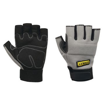 Stanley Large Polyester & Spandex Fingerless Performance Gloves
