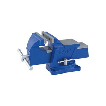 Irwin Record 100mm Workshop Vice with Swivel Base
