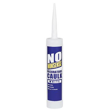 No Nonsense Decorators Caulk White, 380ml