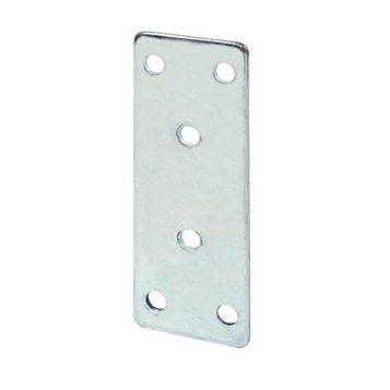 Zinc-Plated Steel Joining Plate (L)35mm, Pack of 10