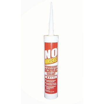 No Nonsense White Intumescent Sealant 310 ml