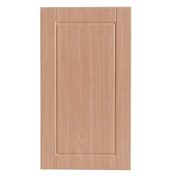 IT Kitchens Chilton Beech Effect Standard Door (W)400mm