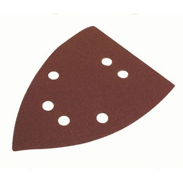 Flexovit (L) 145mm (D) 150mm Mixed Grit Corner Sanding Triangle Pack of 6