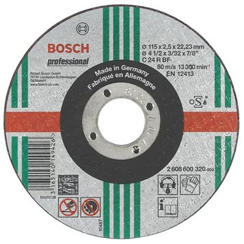 Bosch (Dia)115mm Continuous Stone Cutting & Grinding Disc