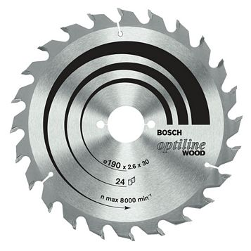 Bosch 20T Circular Saw Blade (Dia)140mm