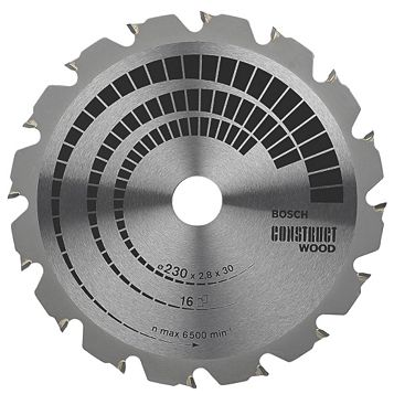 Bosch 16T Circular Saw Blade (Dia)230mm