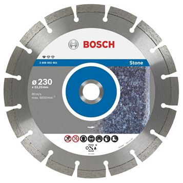 Bosch (Dia)230mm Segmented Diamond Cutting Disc
