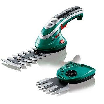 Bosch Isio Electric Cordless Lithium-Ion Shrub & Grass Shear Set