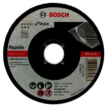 Bosch (Dia)115mm Continuous Inox Cutting Disc