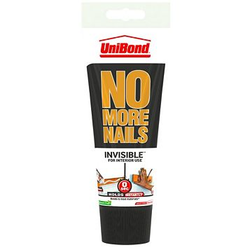 Unibond No More Nails Invisible Grab Adhesive 200ml
