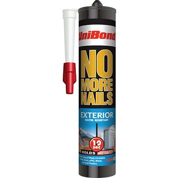 Unibond No More Nails Exterior Grab Adhesive 300ml