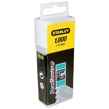 Stanley Staples STA1CT306T (L)10mm, Pack of 1000
