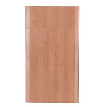 IT Kitchens Sandford Cherry Effect Modern Drawer Line Door & Drawer Front (W)400mm, Set of 1 Door & 1 Drawer Pack