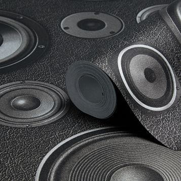 Speakers Black Wallpaper