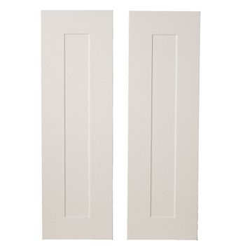 IT Kitchens Stonefield Ivory Classic Style Larder Door (W)300mm, Set of 2