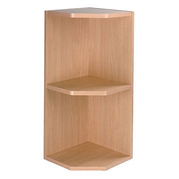 It Kitchens Oak Effect Open End Wall Unit Carcass 720 X 300mm Tradepoint