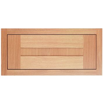 Cooke & Lewis Carisbrooke Oak Framed Bridging Door Framed, 600 x 280mm