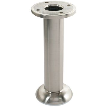 IT Kitchens (H)150mm Brushed Nickel Legs, Pack of 4
