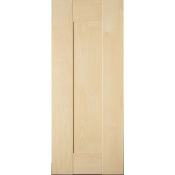 IT Kitchens Westleigh Contemporary Maple Effect Shaker Standard Door (W)300mm
