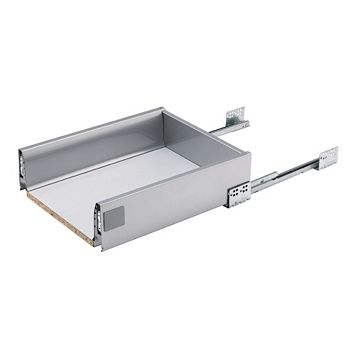 IT Kitchens Stainless Steel Effect Drawer Box (W)368mm