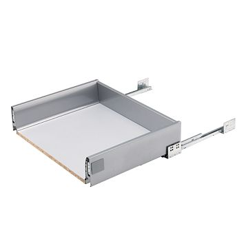 IT Kitchens Stainless Steel Effect Drawer Box (W)568mm