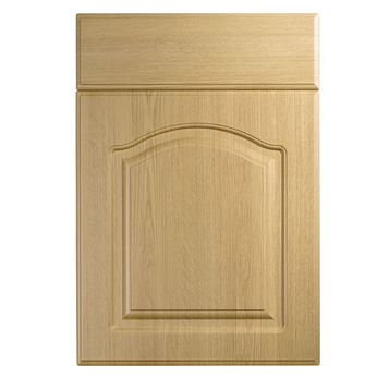IT Kitchens Chilton Traditional Oak Effect Drawer Line Door & Drawer Front (W)500mm, Set of 1 Door & 1 Drawer Pack