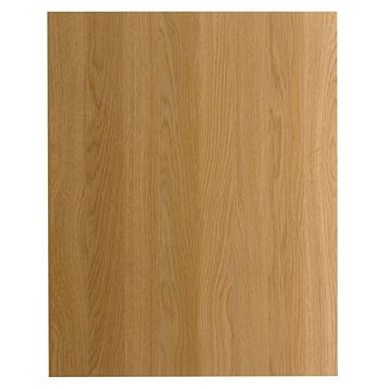 IT Kitchens Traditional Oak Style Replacement Base Base End Panel, 570 x 720mm