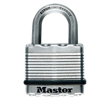 Master Lock Excell Stainless Steel Double Ball Bearing Lock Padlock (W)45mm