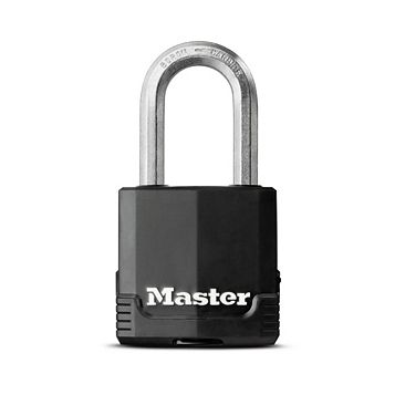 Master Lock Excell Laminated Steel 4 Pin Tumbler Cylinder Keyed Padlock (W)45mm
