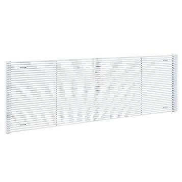 Acova Striane Horizontal Radiator White, (H)608 mm (W)900mm