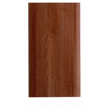 IT Kitchens Sandford Walnut Effect Modern Standard Door (W)400mm