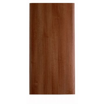 IT Kitchens Sandford Walnut Effect Modern Fridge Freezer Door (W)600mm