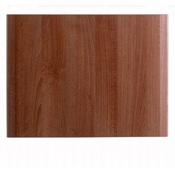 IT Kitchens Sandford Walnut Effect Modern Belfast Sink Door (W)600mm