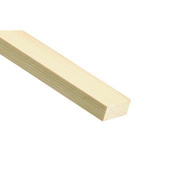 Stripwood Moulding (T)18mm (W)21mm (L)2400mm