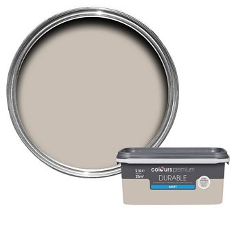Colours Durable Lauren Matt Emulsion Paint 2.5L