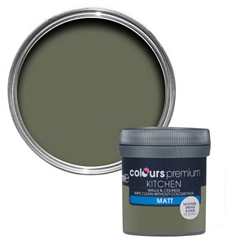 Colours Kitchen Crocodile Matt Emulsion Paint 50ml Tester Pot