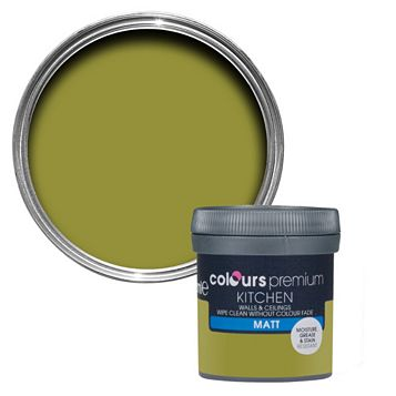 Colours Kitchen Flora`S Garden Matt Emulsion Paint 50ml Tester Pot