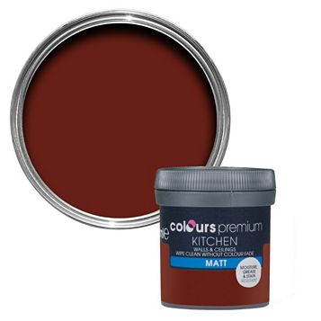 Colours Kitchen Aromatic Matt Emulsion Paint 0.05L Tester Pot
