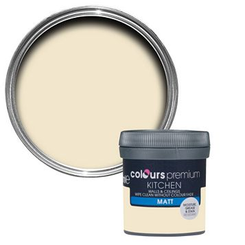 Colours Kitchen Magnolia Matt Emulsion Paint 50ml Tester Pot