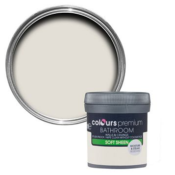 Colours Bathroom Victorian Lace Soft Sheen Emulsion Paint 50ml Tester Pot