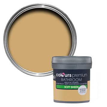 Colours Bathroom Harvest Field Soft Sheen Emulsion Paint 50ml Tester Pot