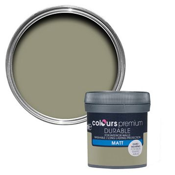 Colours Durable Alep Matt Emulsion Paint 50ml Tester Pot
