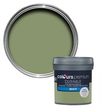 Colours Durable Pastures Matt Emulsion Paint 50ml Tester Pot