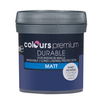 Colours Durable Marine Matt Emulsion Paint 50ml Tester Pot