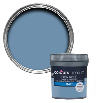 Colours Durable Maritime Matt Emulsion Paint 50ml Tester Pot