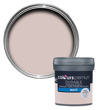Colours Durable Fairy Cake Matt Emulsion Paint 50ml Tester Pot