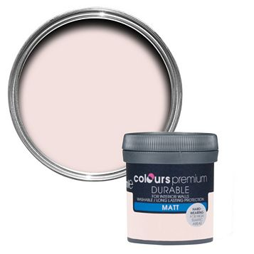 Colours Subtle Blush Matt Emulsion Paint 0.05L Tester Pot