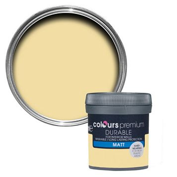 Colours Durable Beach Resort Matt Emulsion Paint 50ml Tester Pot