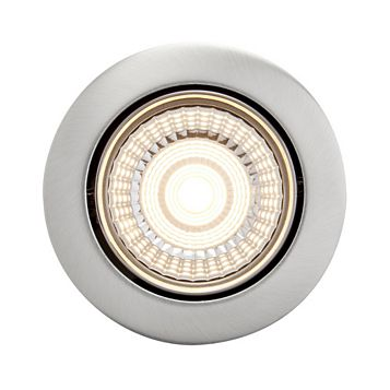 Diall Brushed Chrome Effect Downlight 7 W