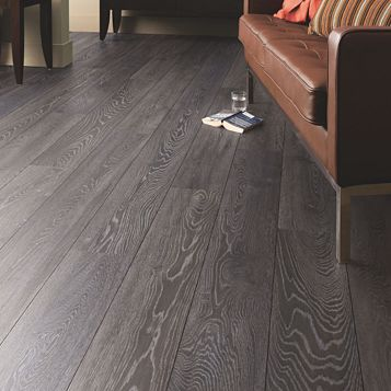 Amadeo Bedrock Oak Effect Authentic Embossed Finish Laminate Flooring 2.22 m² Pack